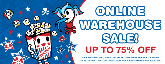 tokidoki Online Warehouse Sale!