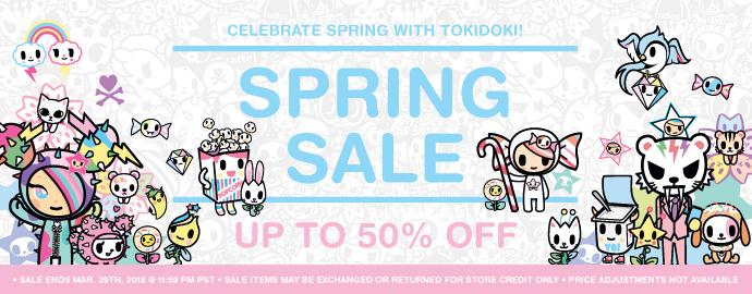 tokidoki Spring Sale 2017