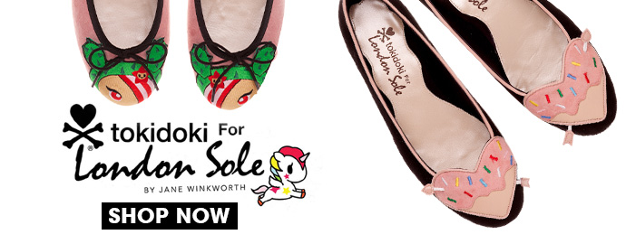 tokidoki for London Sole!
