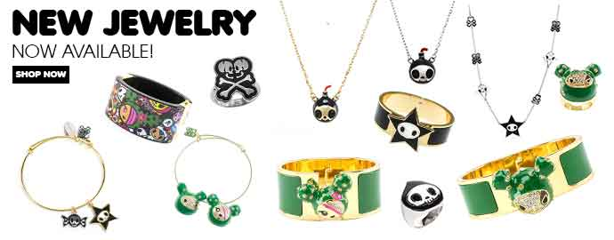 Chic, Fun and Stylish tokidoki Jewelry!