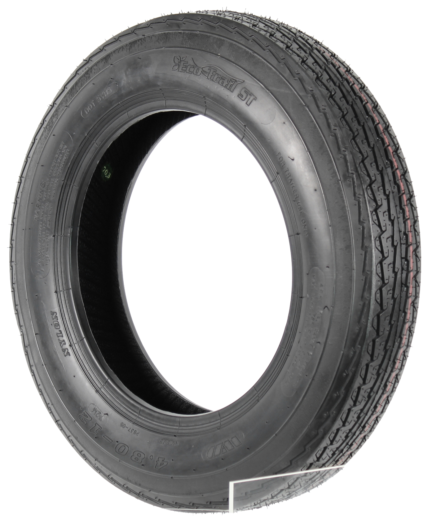 Eco-Trail 4.80x12 LRB Bias Trailer Tire Image