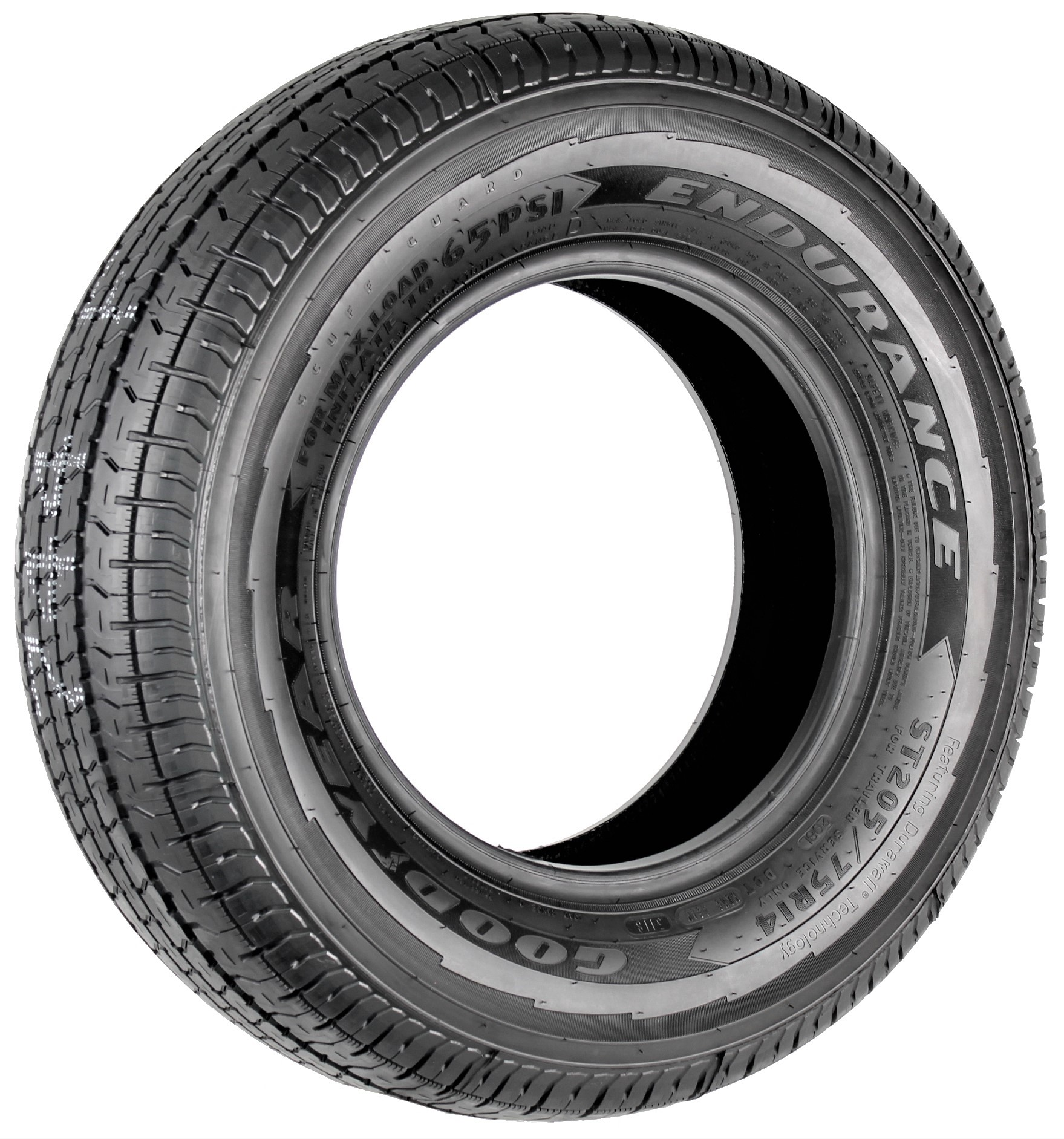 Goodyear Endurance ST205/75R14 LRD Radial Trailer Tire Image