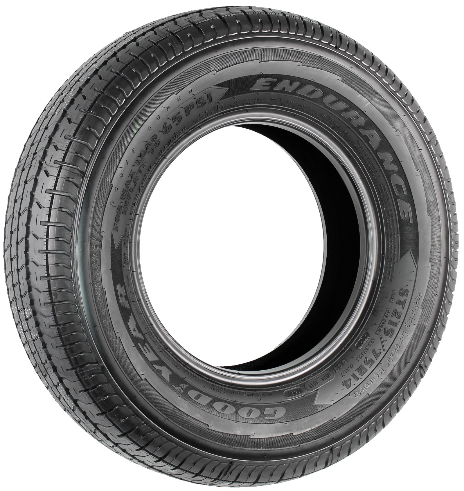 Goodyear Endurance ST215/75R14 LRD Radial Trailer Tire Image