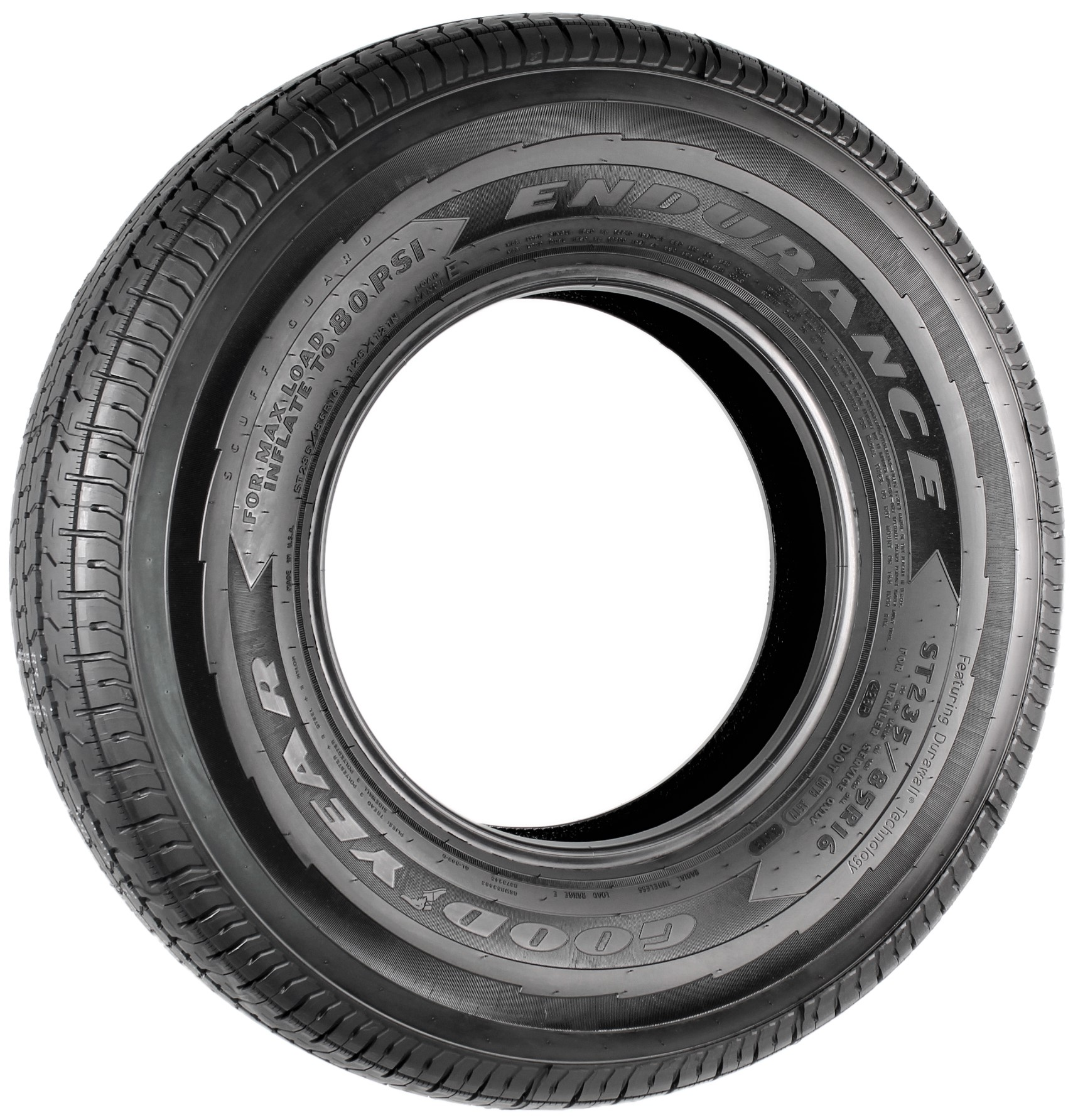 Goodyear Endurance ST235/85R16 LRE Radial Trailer Tire Image