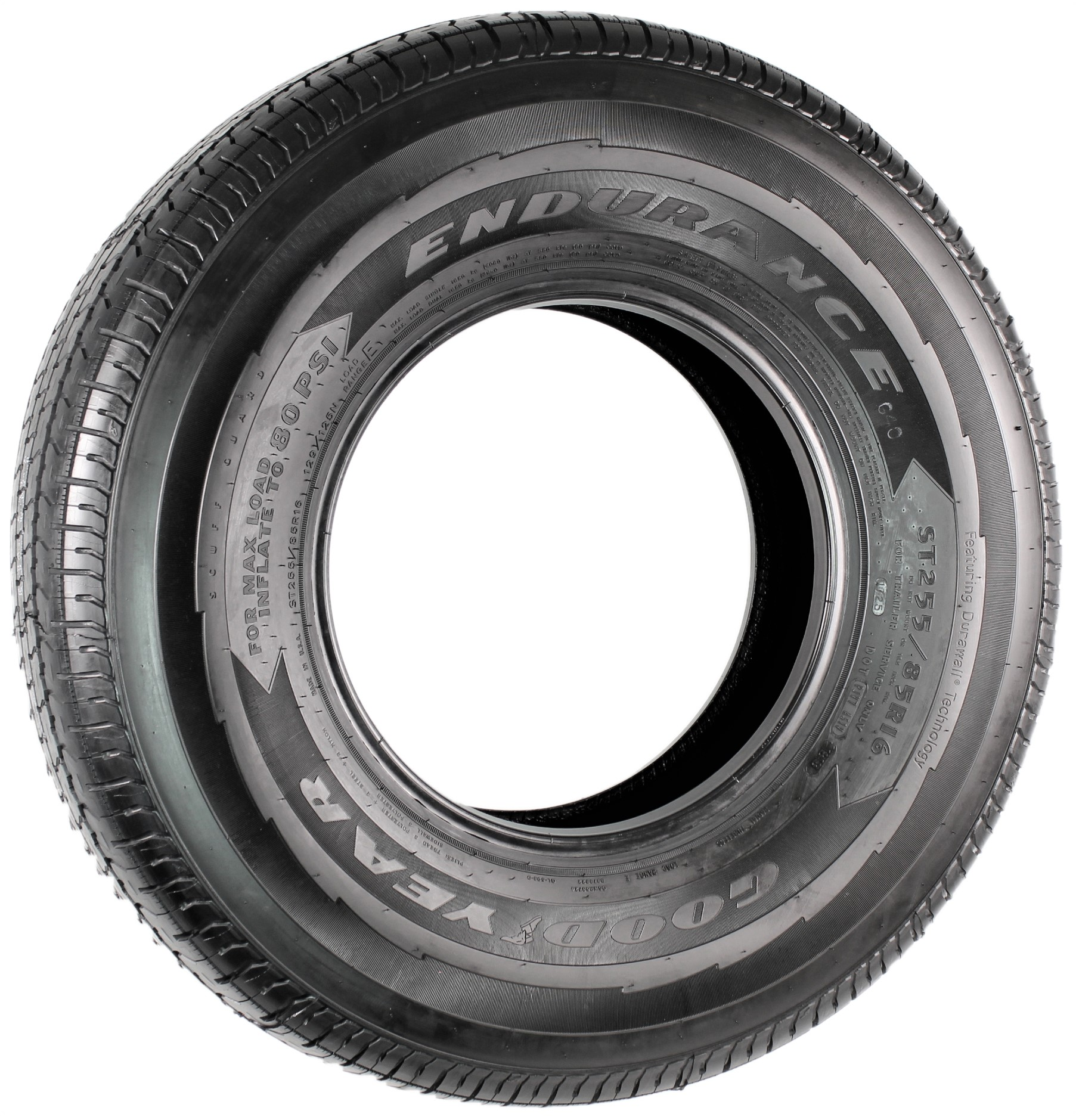 Goodyear Endurance ST255/85R16 LRE Radial Trailer Tire Image