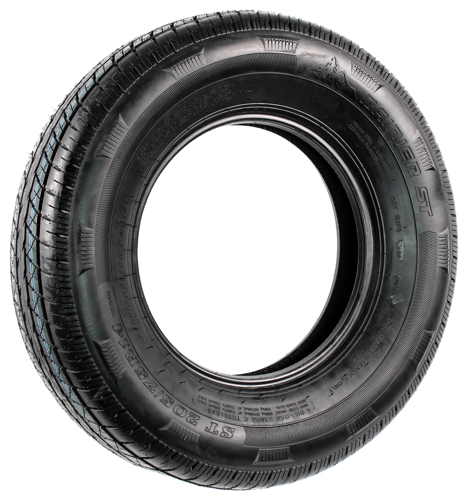 Rainier ST205/75R14 LRC 6-Ply Radial Trailer Tire Image