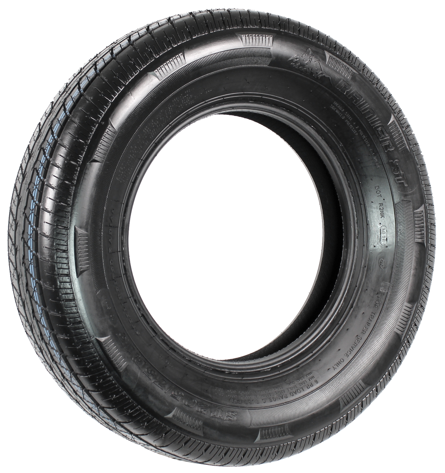 Rainier ST205/75R15 LRC 6-Ply Radial Trailer Tire Image