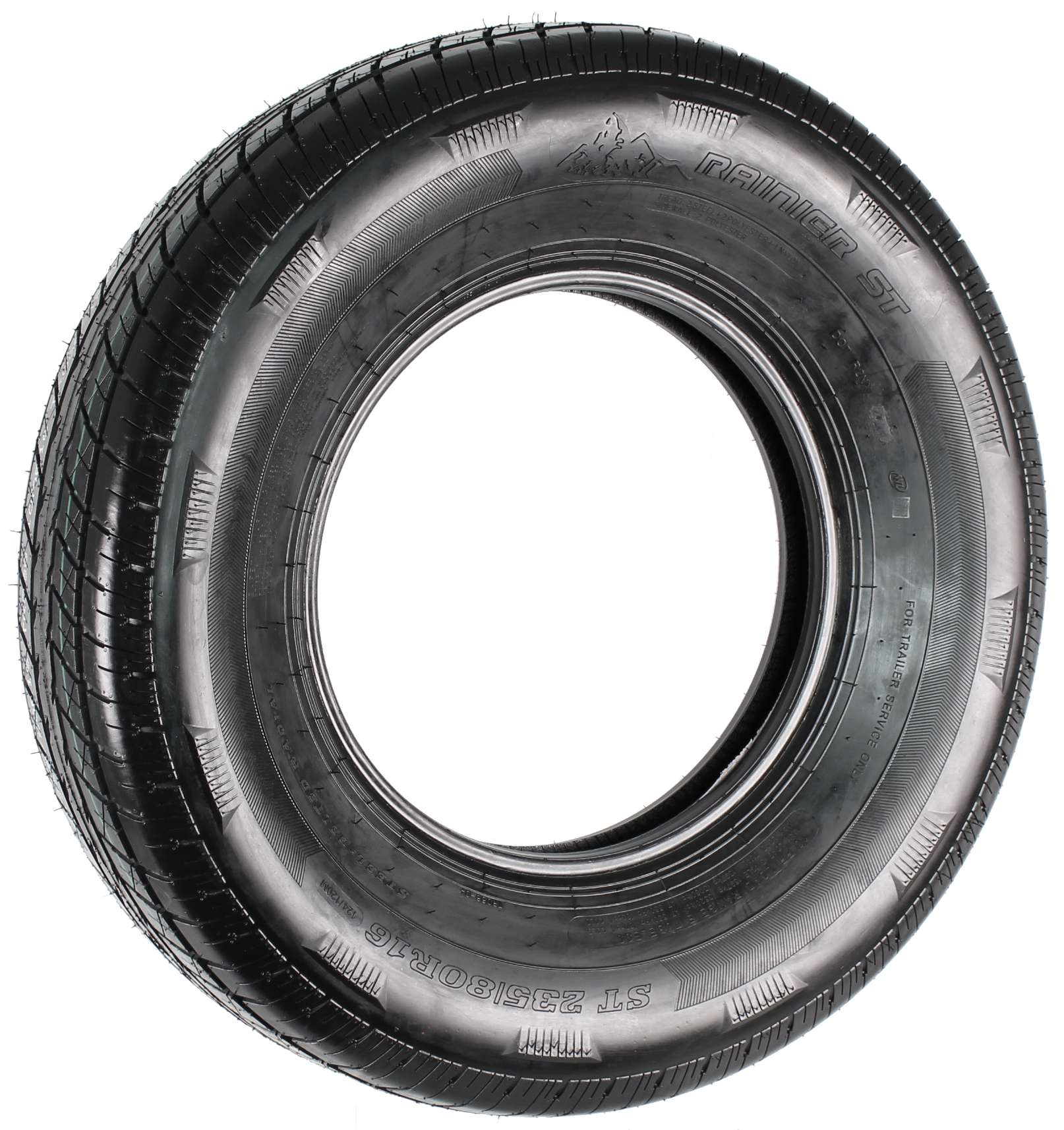 Rainier ST235/80R16 LRF 12-Ply Radial Trailer Tire Image