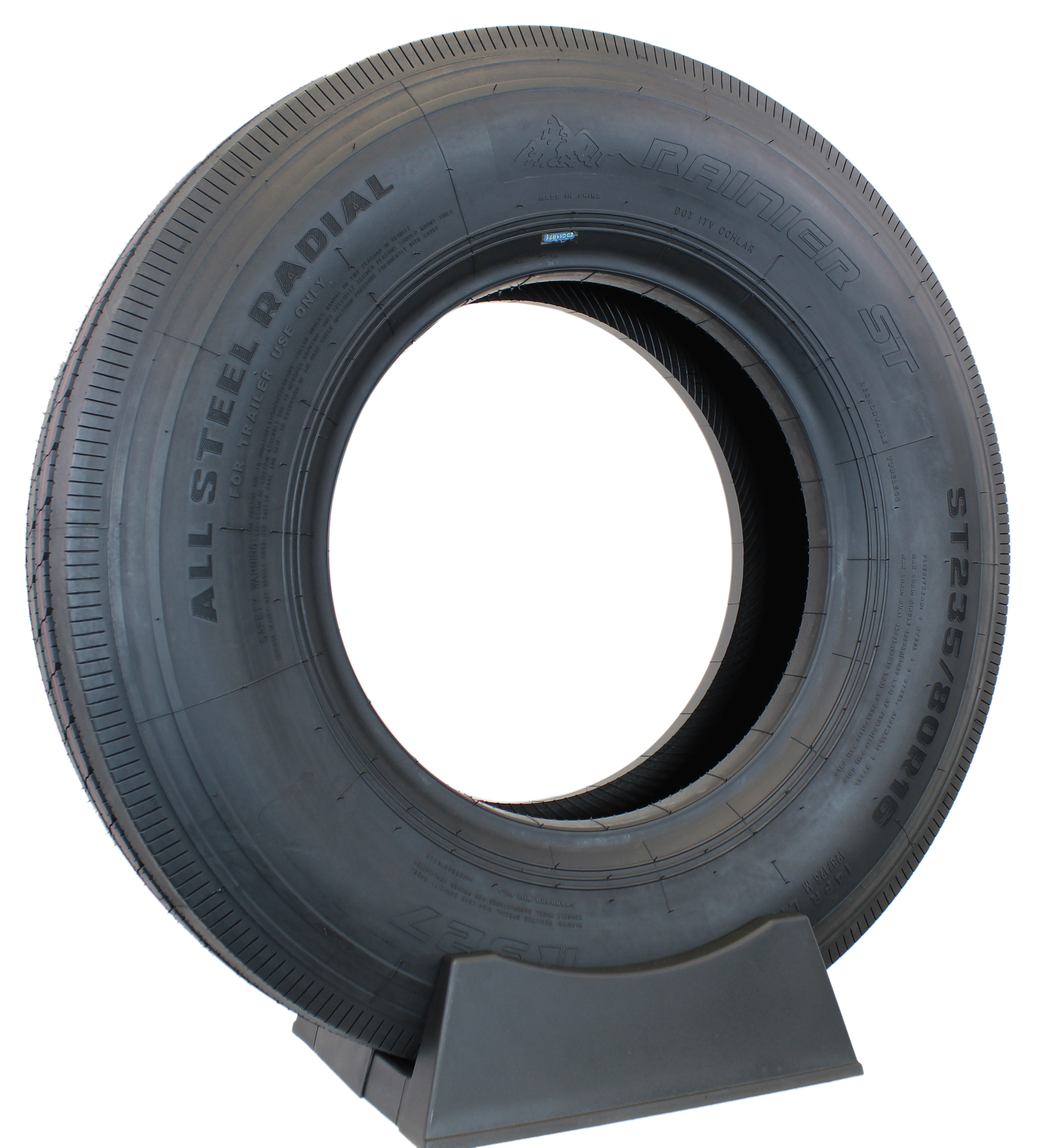 Rainier ST All-Steel ST235/80R16 LRG Radial Trailer Tire Image