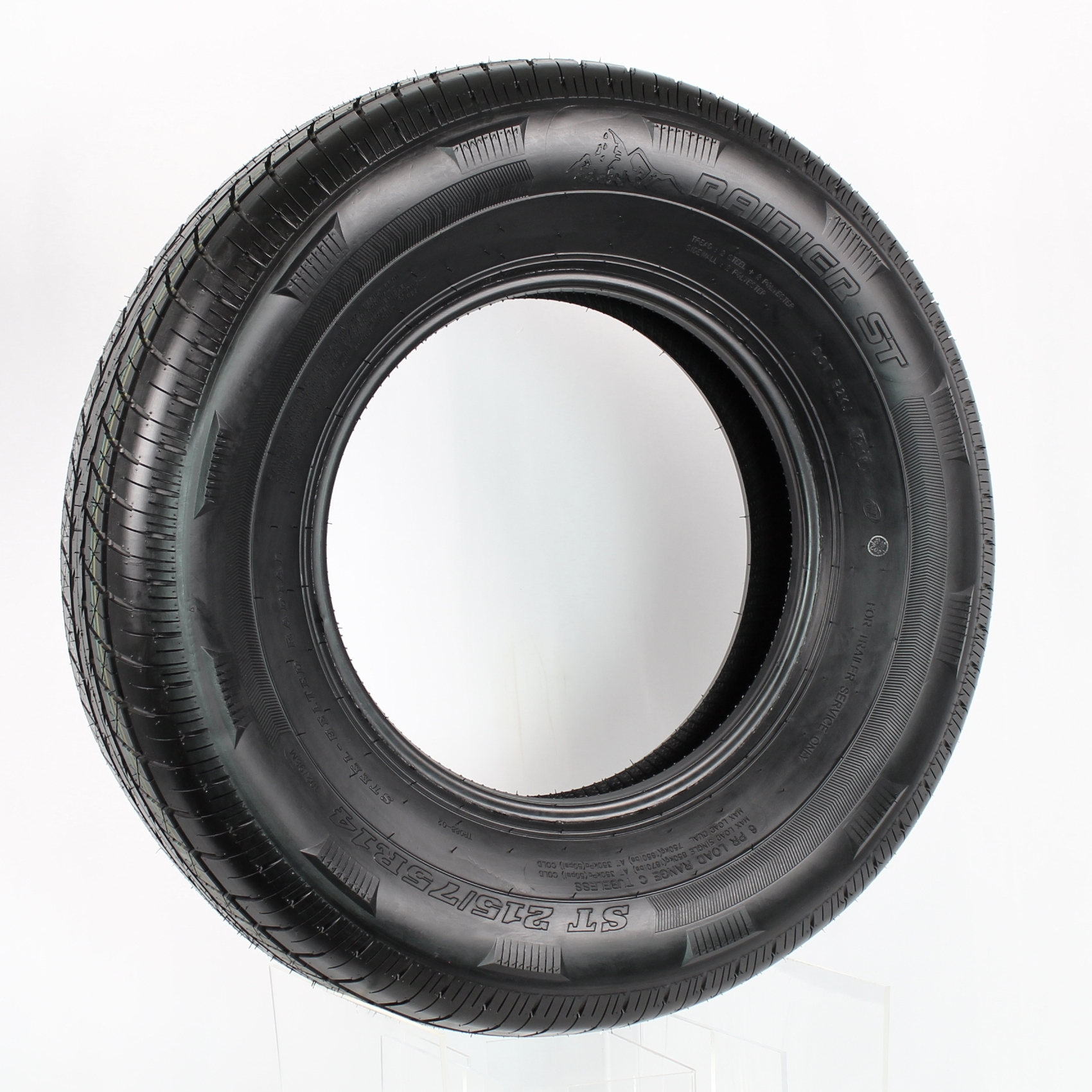 Rainier ST215/75R14 LRC 6-Ply Radial Trailer Tire Image