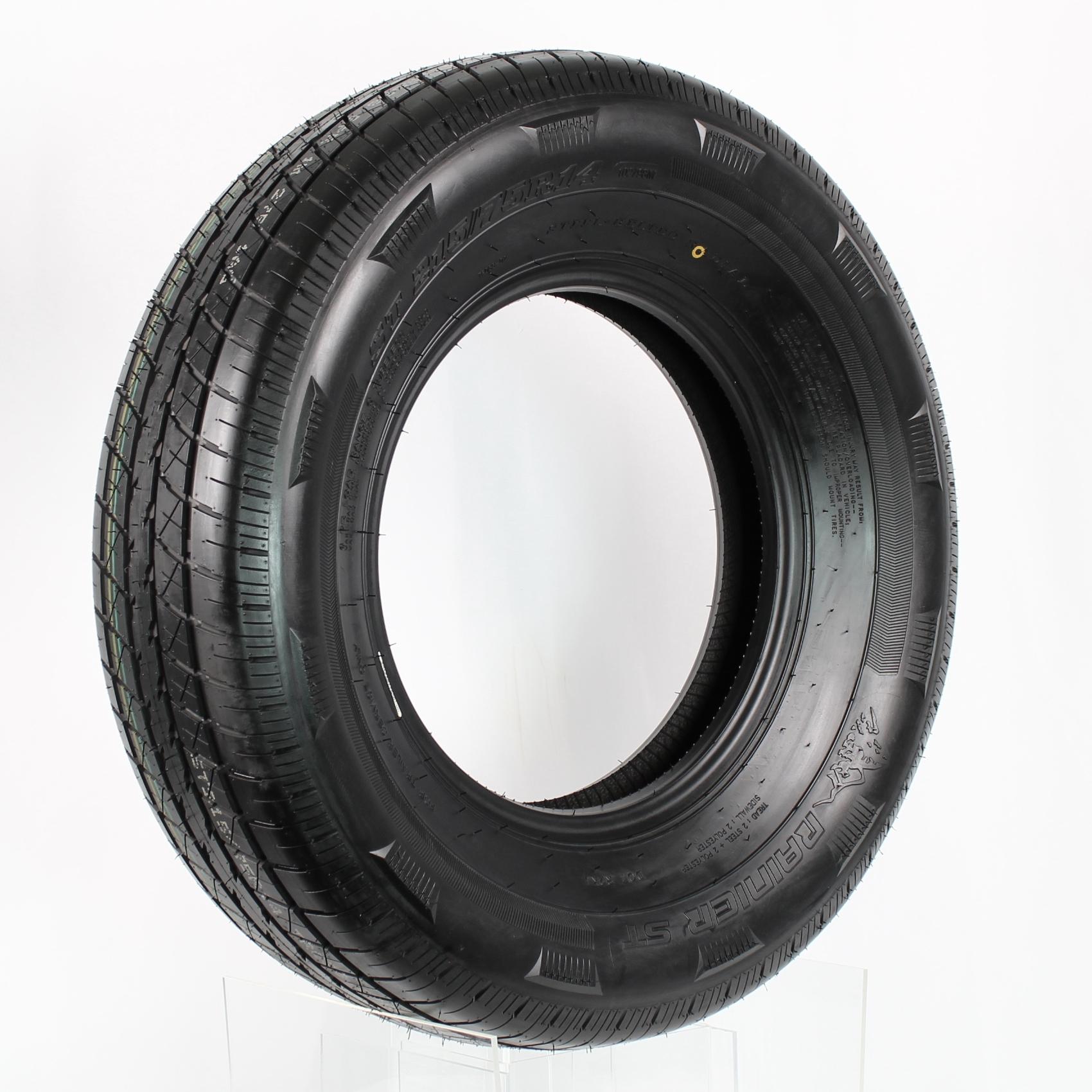 Rainier ST215/75R14 LRD 8-Ply Radial Trailer Tire Image