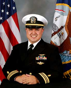 U.S. Navy Lt. Cmdr. Thomas E. Sather