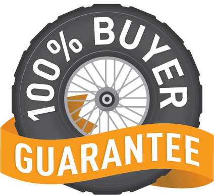 Rocky Yamaha 100% Buyer Satisfaction Guarantee Logo