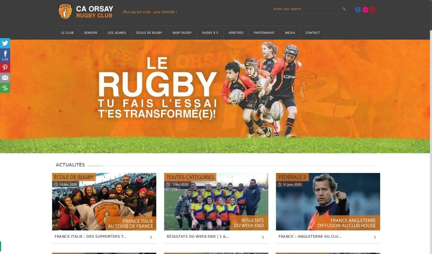 Club Athlétique d'Orsay Rugby Club (Orsay)