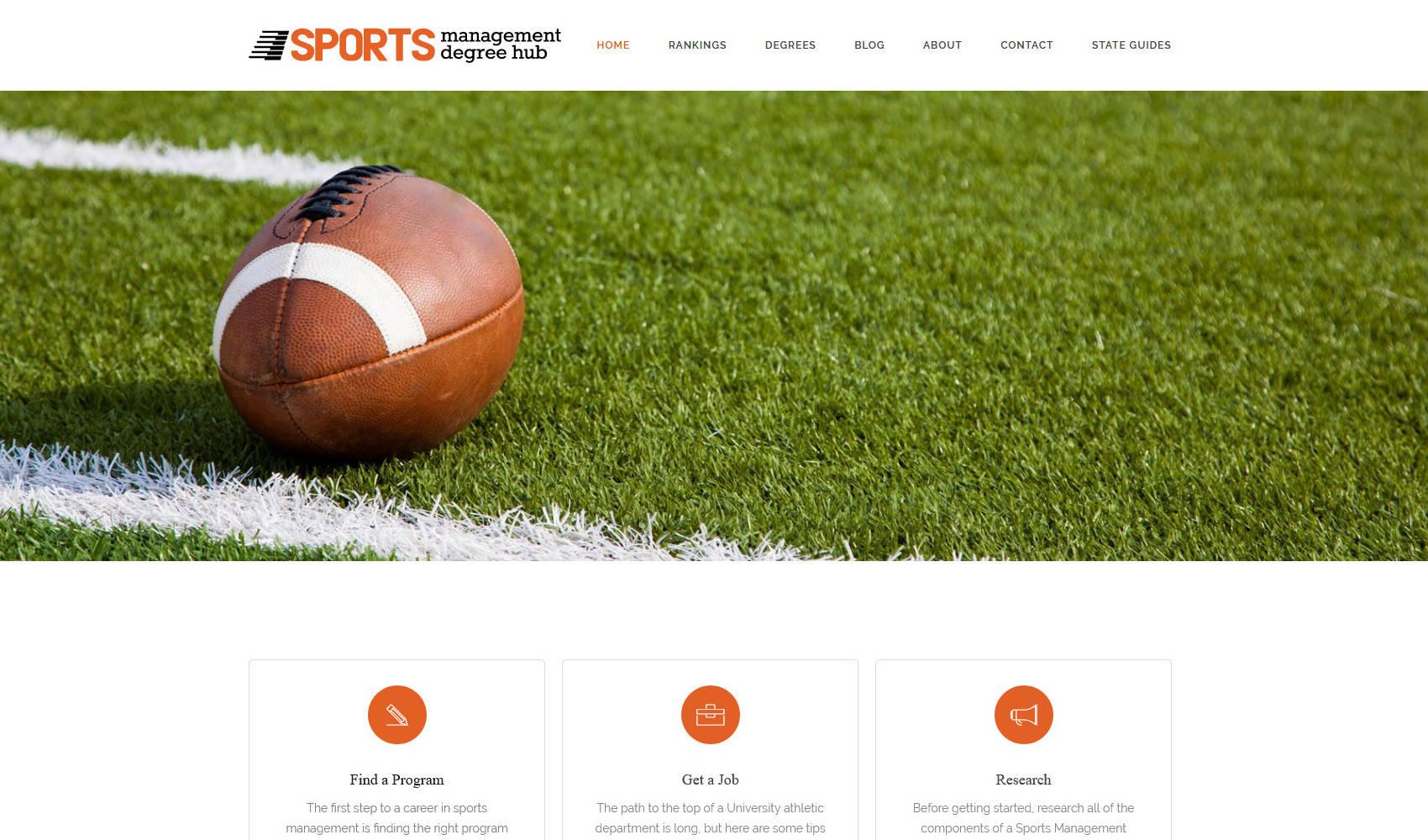Sports Management Degree Hub