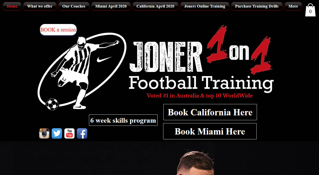 Joner 1on1 Football Training