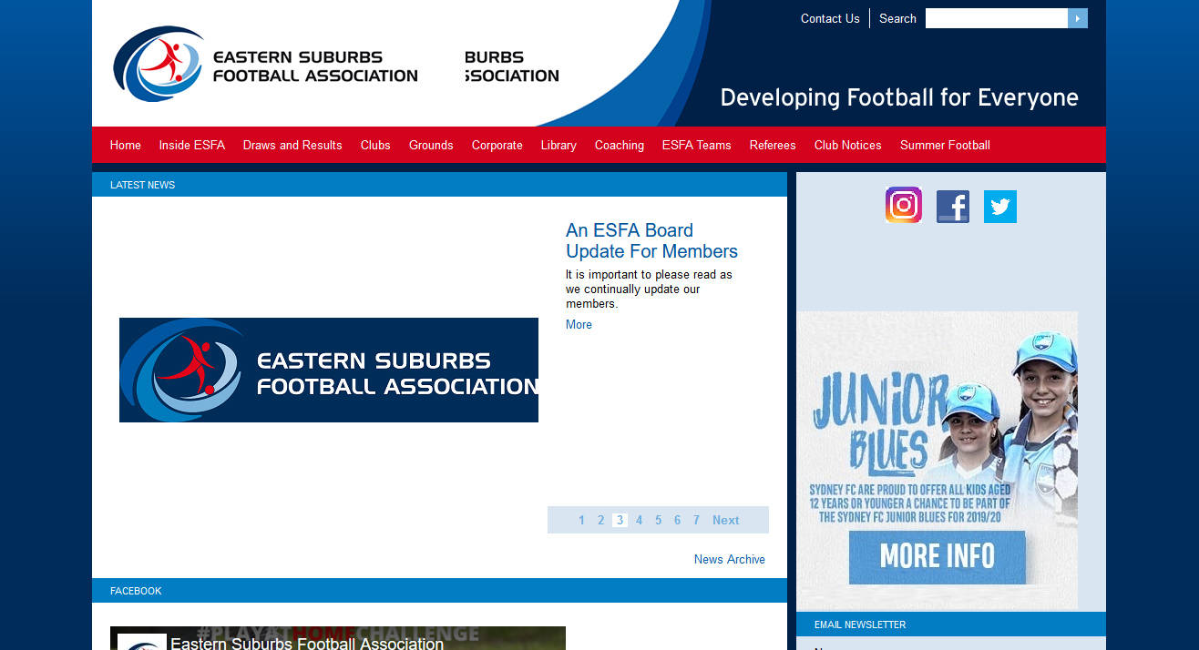 Eastern Suburbs Football Association (ESFA)