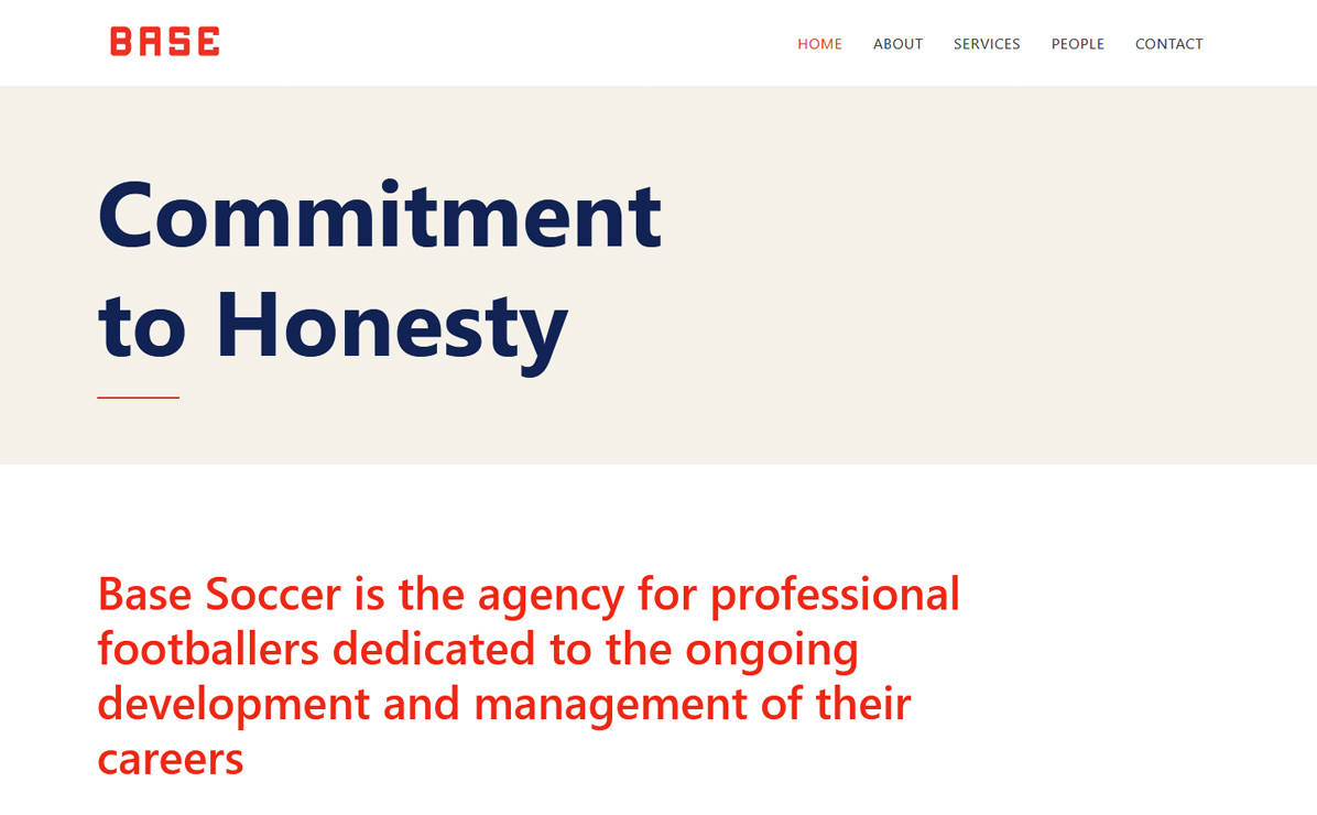 Base Soccer Agency
