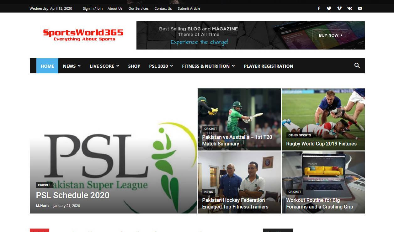 SportsWorld365