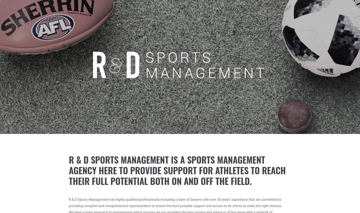 R&D Sports Management