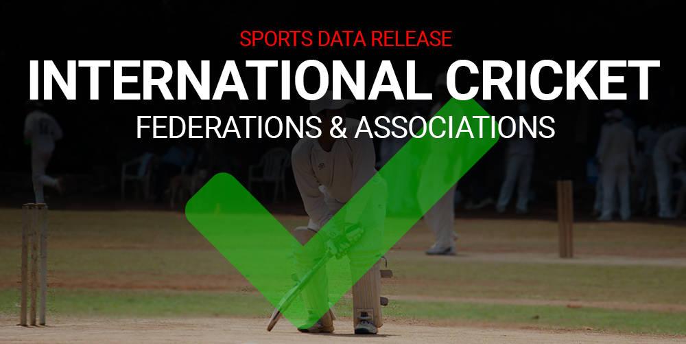 Cricket Association & Federation Global Profiles Added
