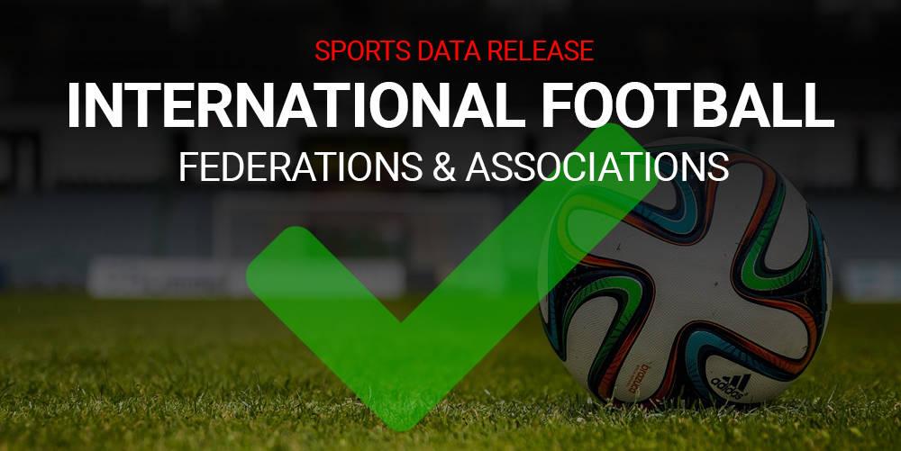 Football Association & Federation Global Profiles Added