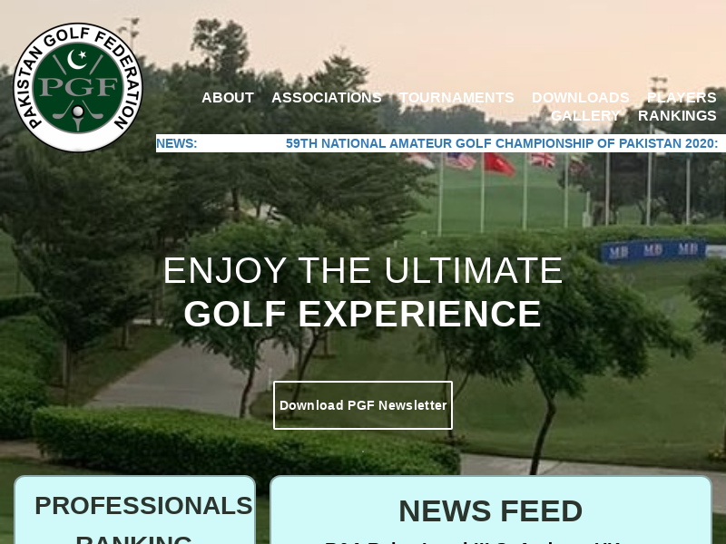 Pakistan Golf Federation
