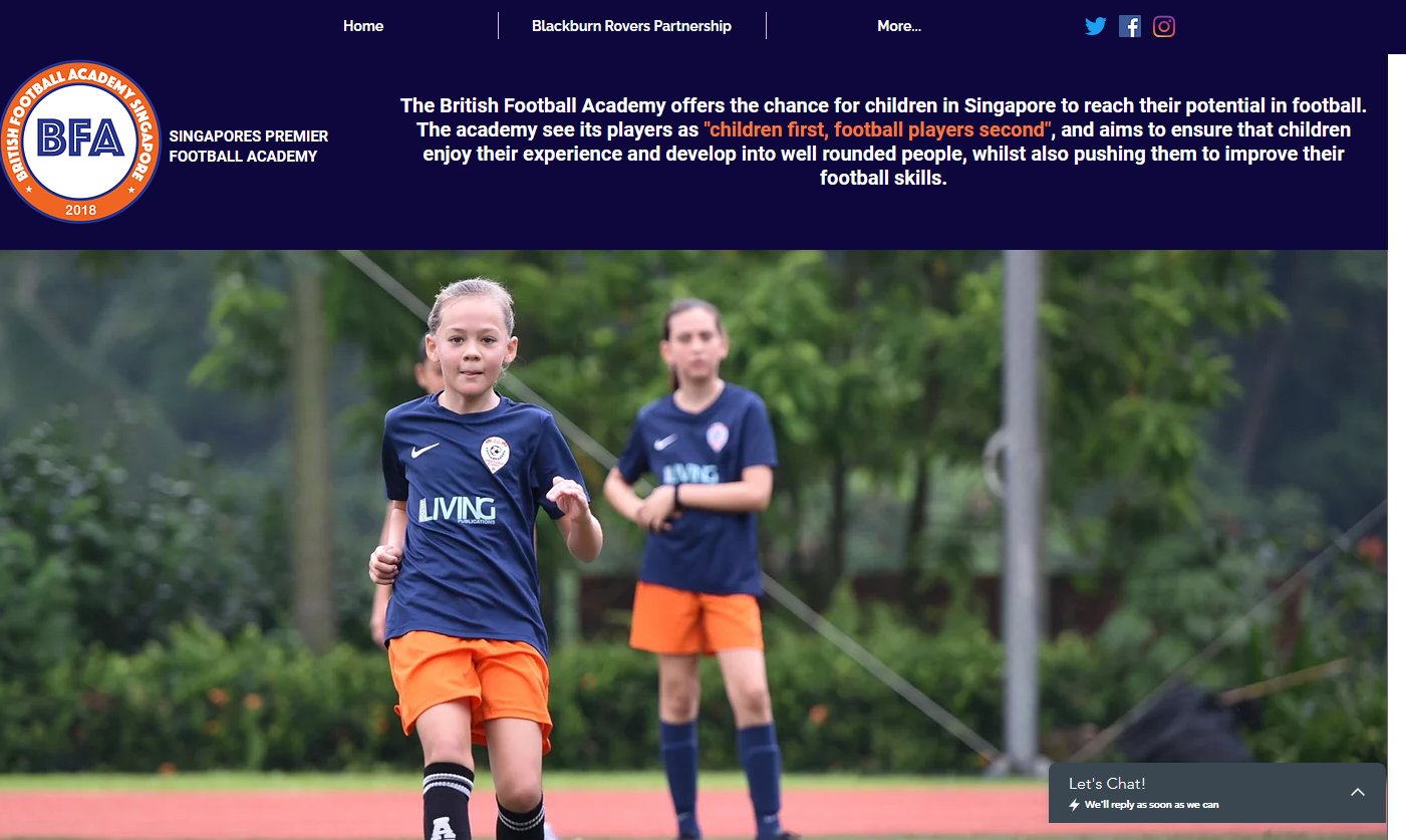 British Football Academy Singapore