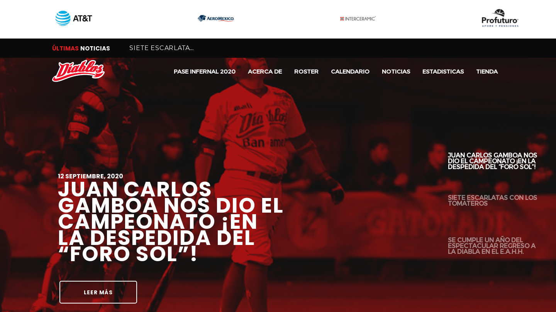Diablos Rojos del México (Mexico City Red Devils)