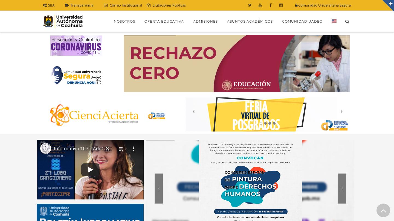 Universidad Autónoma de Coahuila – Saltillo