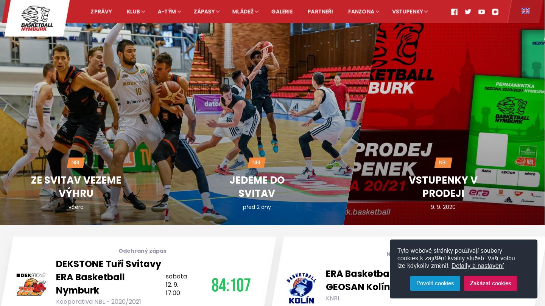 CEZ Basketball Nymburk