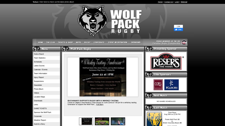 Prairie Wolf Pack