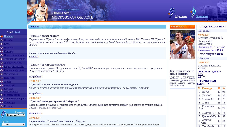 Dynamo Moscow Region