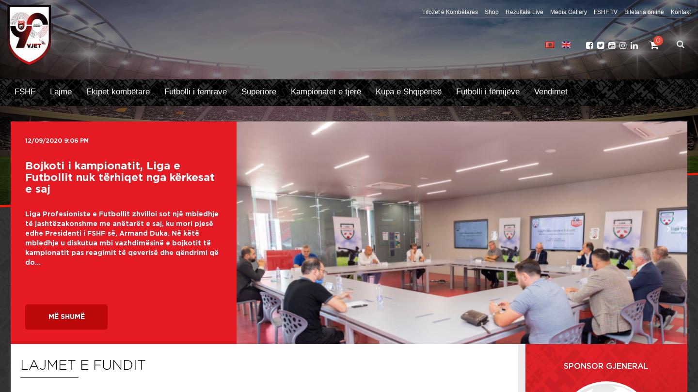 FSHF – Federata Shqiptare e Futbollit