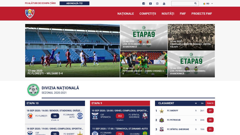 Federația Moldovenească de Fotbal