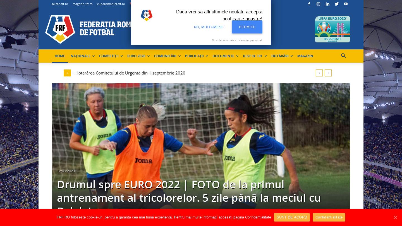 Federația Română de Fotbal