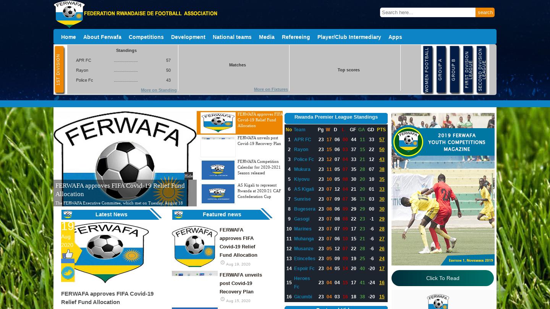 Fédération Rwandaise de Football Association