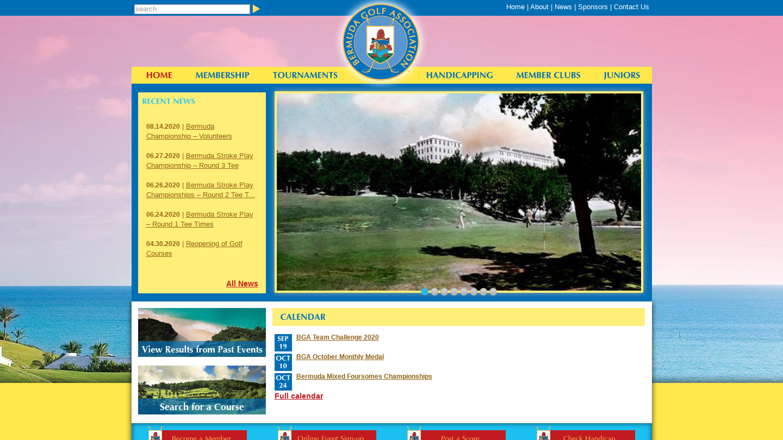Bermuda Golf Association