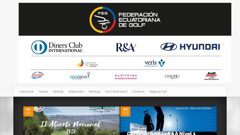 Federación Ecuatoriana de Golf