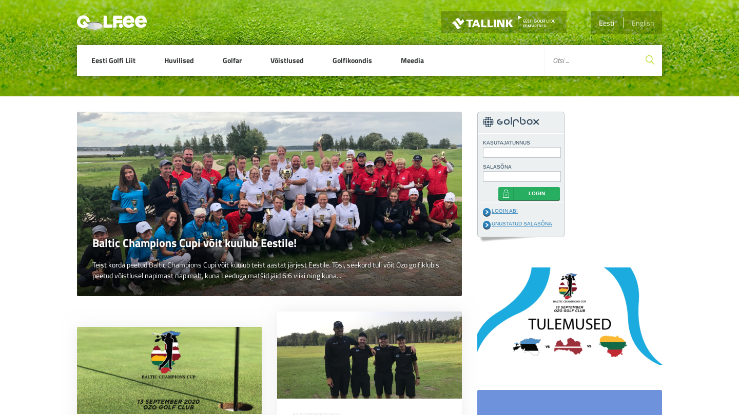 Estonian Golf Association