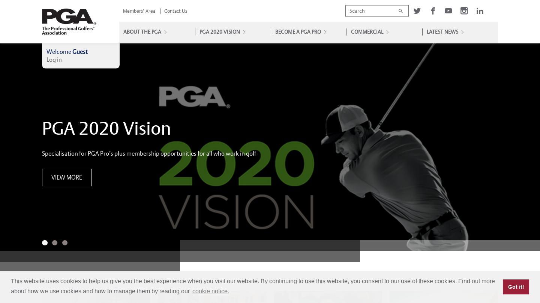 The Professional Golfers' Association