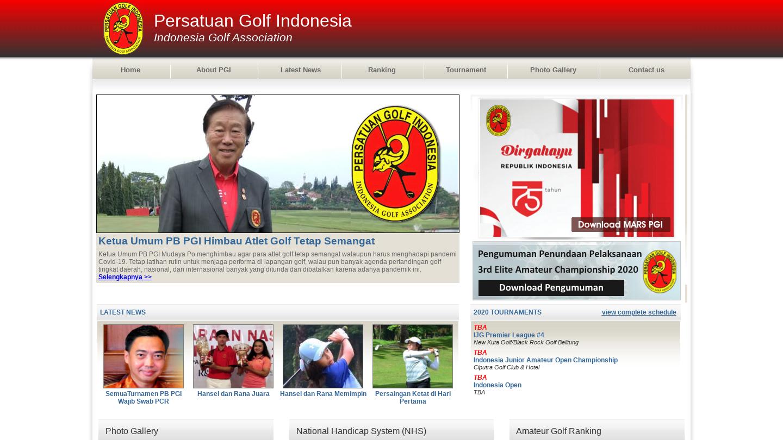 Persatuan Golf Indonesia