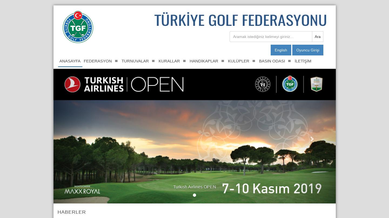 Türkiye Golf Federasyonu