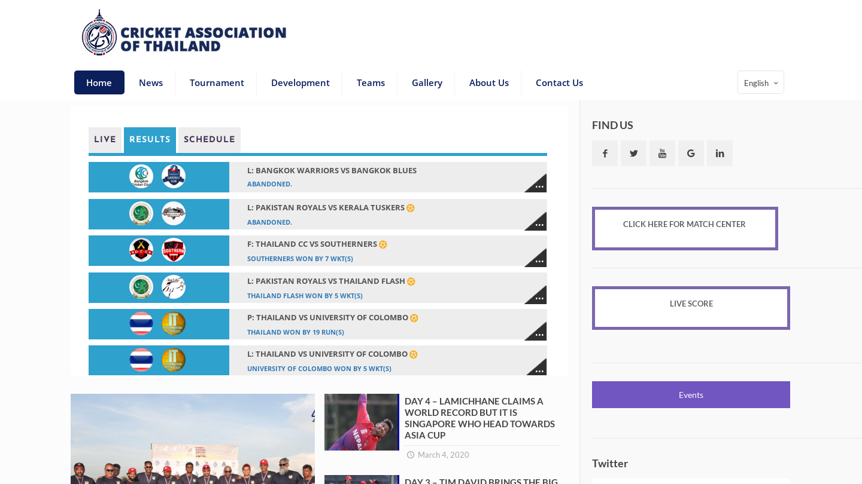 Cricket Association of Thailand