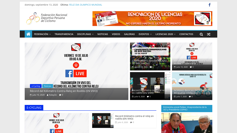 Peru Cycling Association