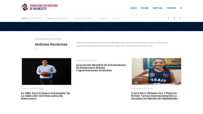 Federación Costarricense de Baloncesto