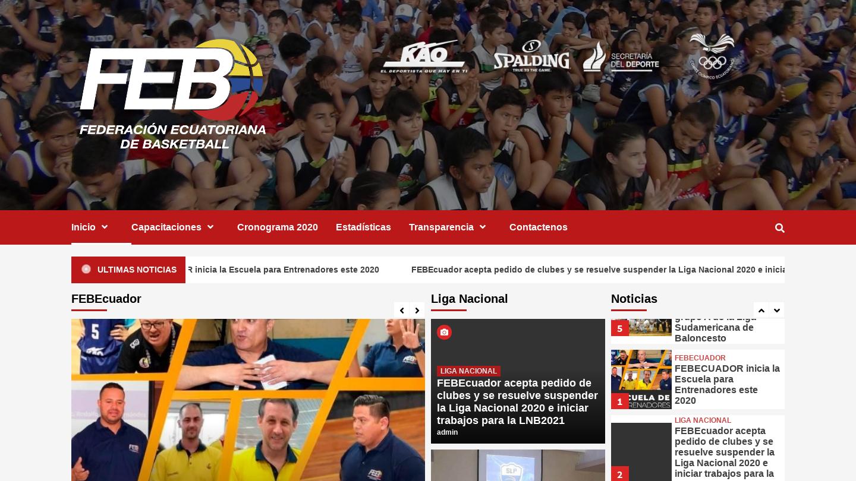Federación Ecuatoriana de Basquetbol