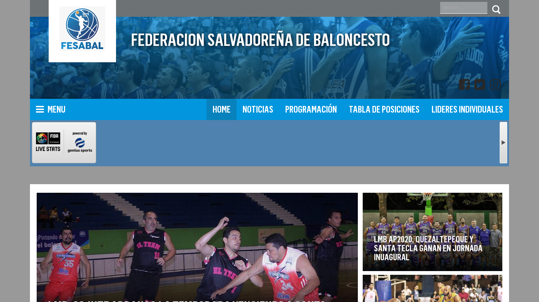 Federación Salvadoreña de Baloncesto