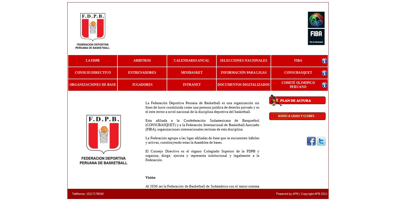 Federación Peruana de Basketball