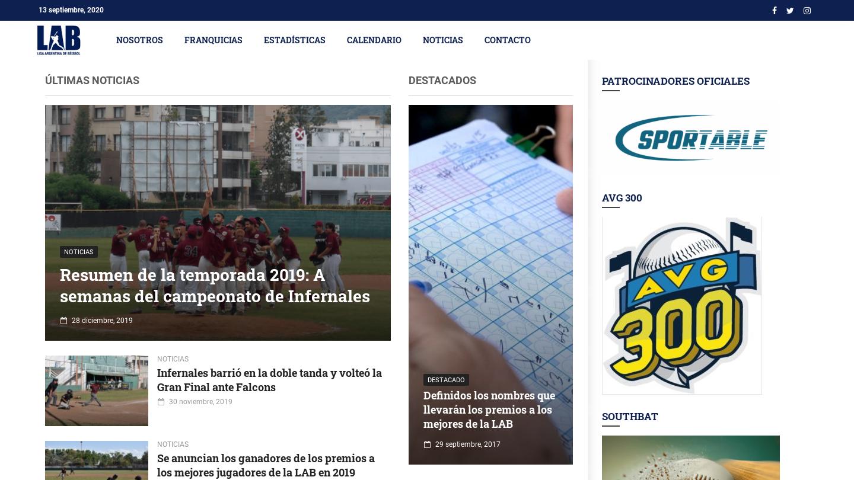 Argentine Baseball League